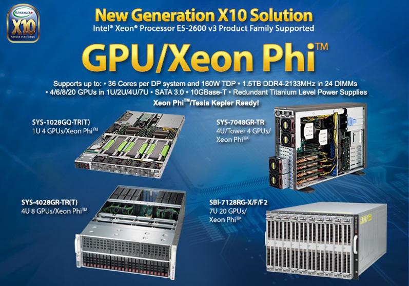 슈퍼마이크로 한국 공식 수입원 넥스트와이즈 입니다  - GPU/Xeon Phi